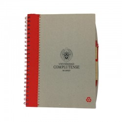 Cuaderno A4 + bolígrafo