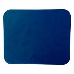 Mousepad piel azul