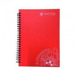 Cuaderno notas A5  cartón...
