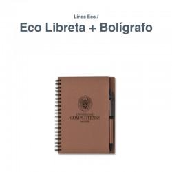 Linea Eco Libreta + Boligrafo